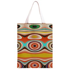 Oval Circle Patterns Classic Light Tote Bag