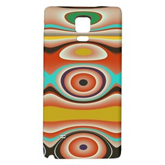 Oval Circle Patterns Galaxy Note 4 Back Case