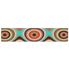 Oval Circle Patterns Flano Scarf (Small)