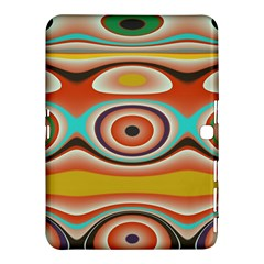 Oval Circle Patterns Samsung Galaxy Tab 4 (10.1 ) Hardshell Case