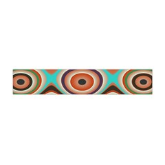 Oval Circle Patterns Flano Scarf (Mini)