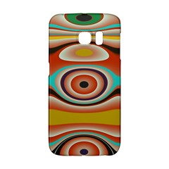 Oval Circle Patterns Galaxy S6 Edge