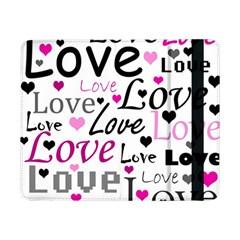 Love pattern - magenta Samsung Galaxy Tab Pro 8.4  Flip Case