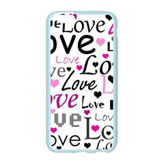 Love pattern - magenta Apple Seamless iPhone 6/6S Case (Color)