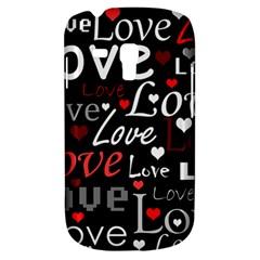 Red Love pattern Galaxy S3 Mini