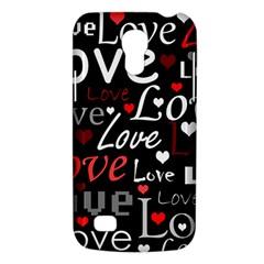 Red Love pattern Galaxy S4 Mini