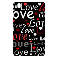 Red Love pattern Samsung Galaxy Tab Pro 8.4 Hardshell Case
