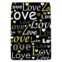 Yellow Love pattern Flap Covers (L)