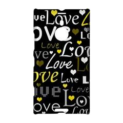 Yellow Love pattern Nokia Lumia 1520