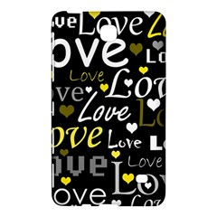 Yellow Love pattern Samsung Galaxy Tab 4 (8 ) Hardshell Case
