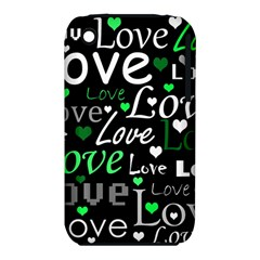 Green Valentine s day pattern iPhone 3S/3GS