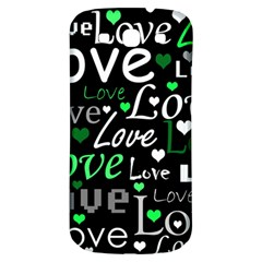 Green Valentine s day pattern Samsung Galaxy S3 S III Classic Hardshell Back Case