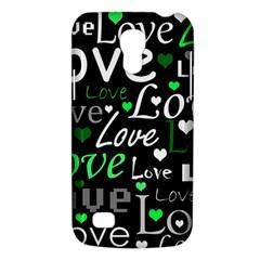 Green Valentine s day pattern Galaxy S4 Mini