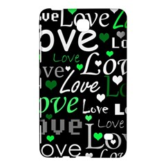 Green Valentine s day pattern Samsung Galaxy Tab 4 (8 ) Hardshell Case