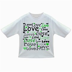 Green  Valentine s day pattern Infant/Toddler T-Shirts