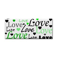 Green  Valentine s day pattern Cosmetic Storage Cases