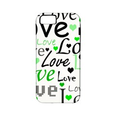 Green  Valentine s day pattern Apple iPhone 5 Classic Hardshell Case (PC+Silicone)