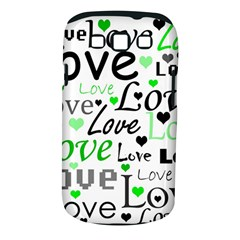 Green  Valentine s day pattern Samsung Galaxy S III Classic Hardshell Case (PC+Silicone)