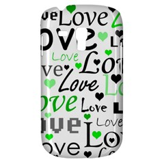Green  Valentine s day pattern Galaxy S3 Mini