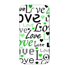 Green  Valentine s day pattern Samsung Galaxy S4 I9500/I9505  Hardshell Back Case
