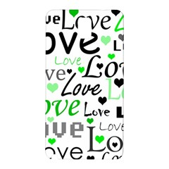 Green  Valentine s day pattern Samsung Galaxy Note 3 N9005 Hardshell Back Case