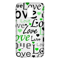 Green  Valentine s day pattern Galaxy S5 Mini