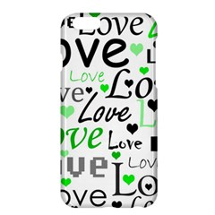 Green  Valentine s day pattern Apple iPhone 6 Plus/6S Plus Hardshell Case