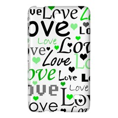 Green  Valentine s day pattern Samsung Galaxy Tab 4 (7 ) Hardshell Case