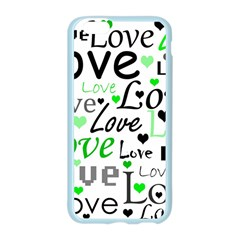 Green  Valentine s day pattern Apple Seamless iPhone 6/6S Case (Color)