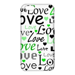 Green  Valentine s day pattern iPhone 6/6S TPU Case