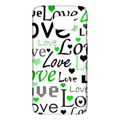Green  Valentine s day pattern Galaxy S6
