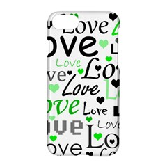 Green  Valentine s day pattern Apple iPhone 7 Hardshell Case