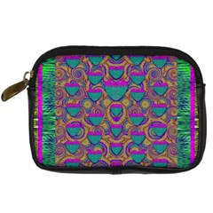 Merry Love In Heart  Time Digital Camera Cases