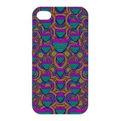 Merry Love In Heart  Time Apple iPhone 4/4S Premium Hardshell Case