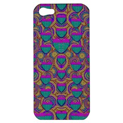 Merry Love In Heart  Time Apple iPhone 5 Hardshell Case