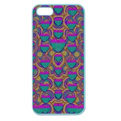 Merry Love In Heart  Time Apple Seamless iPhone 5 Case (Color)