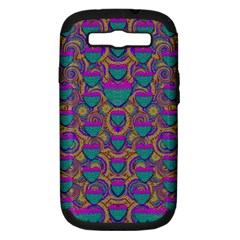Merry Love In Heart  Time Samsung Galaxy S III Hardshell Case (PC+Silicone)