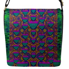 Merry Love In Heart  Time Flap Messenger Bag (S)