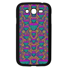 Merry Love In Heart  Time Samsung Galaxy Grand DUOS I9082 Case (Black)