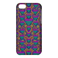 Merry Love In Heart  Time Apple Iphone 5c Hardshell Case