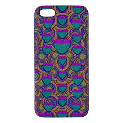Merry Love In Heart  Time iPhone 5S/ SE Premium Hardshell Case