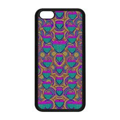 Merry Love In Heart  Time Apple iPhone 5C Seamless Case (Black)