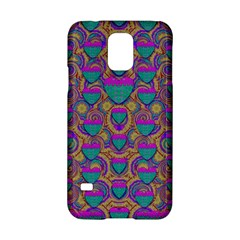 Merry Love In Heart  Time Samsung Galaxy S5 Hardshell Case