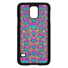Merry Love In Heart  Time Samsung Galaxy S5 Case (Black)