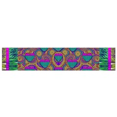 Merry Love In Heart  Time Flano Scarf (Small)