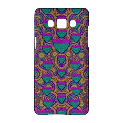Merry Love In Heart  Time Samsung Galaxy A5 Hardshell Case
