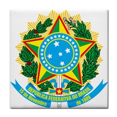 Coat of Arms of Brazil Tile Coasters