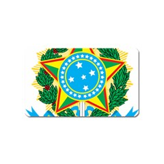 Coat of Arms of Brazil Magnet (Name Card)