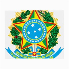 Coat of Arms of Brazil Small Glasses Cloth (2-Side)