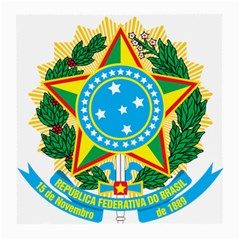 Coat of Arms of Brazil Medium Glasses Cloth (2-Side)